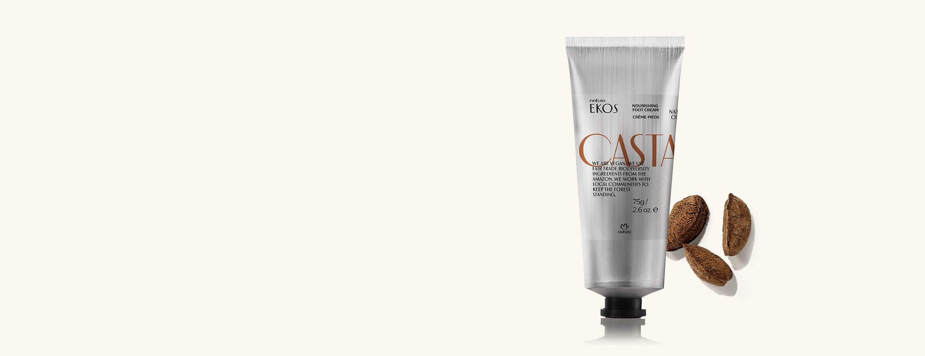 Natura Ekos Castanha Foot Cream