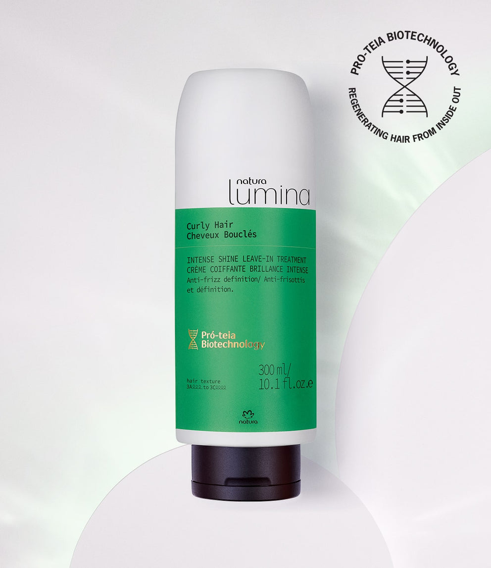 Intense Shine Leave-In Treatment for Curly Hair Lumina - Natura_mobile