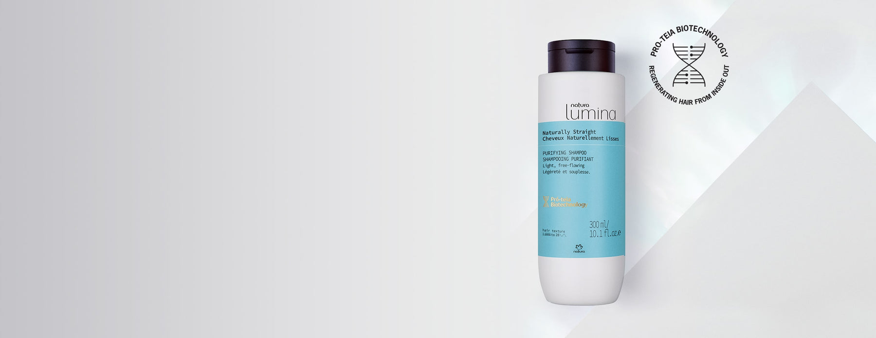 Natura Lumina Purifying Shampoo for Curly Hair