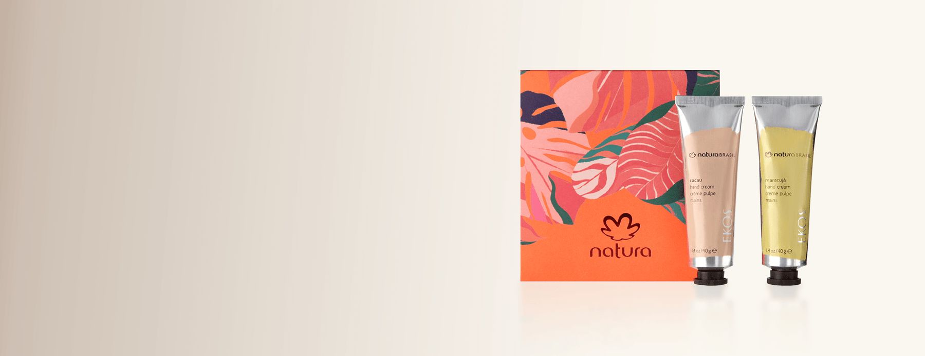 Hand Cream Duo Natura Holiday