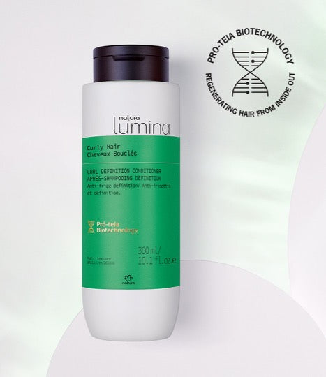Curl Definition Conditioner for Curly Hair Lumina - Natura_mobile