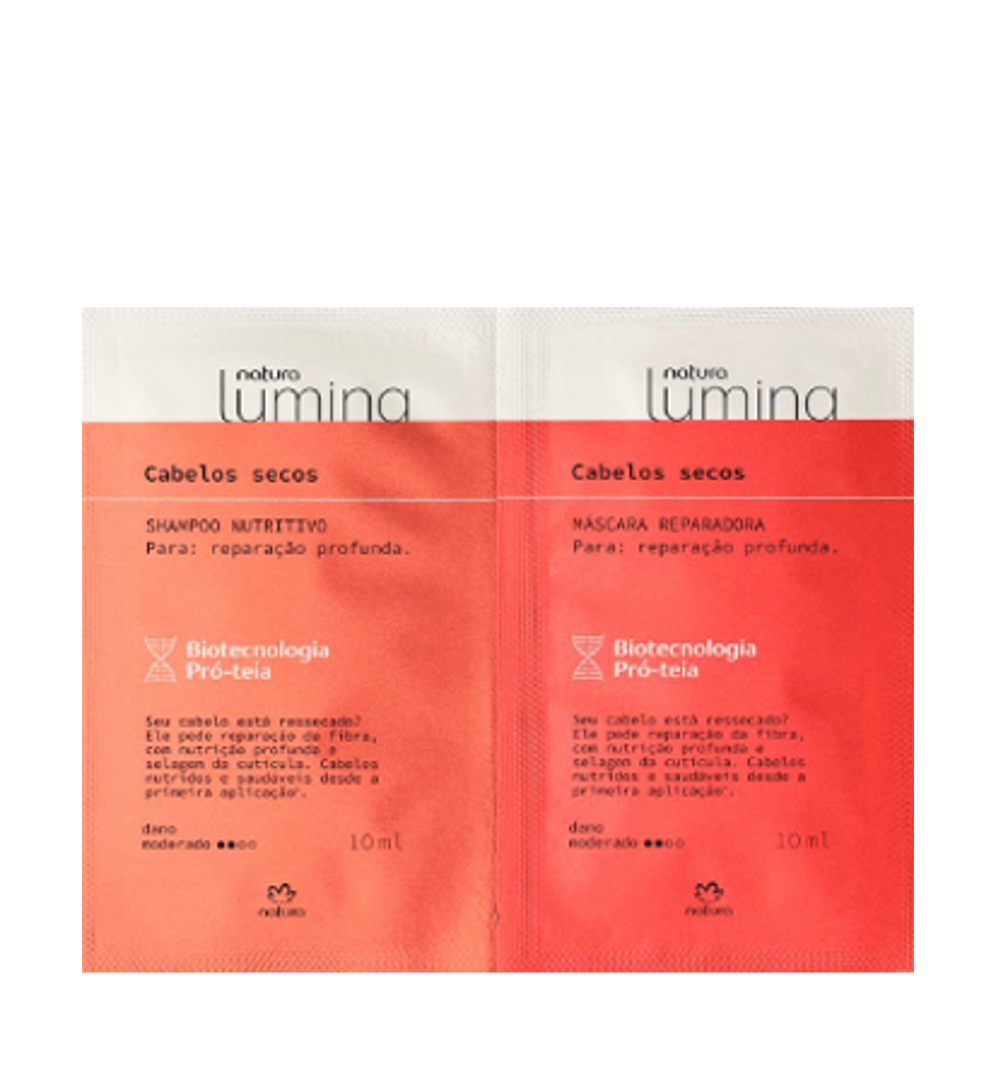 Lumina Shampoo and Mask for Dry Hair Sample