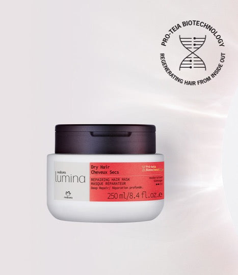 Repairing Mask for Dry Hair Lumina - Natura_mobile