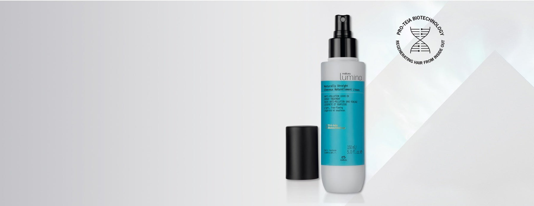 Natura Lumina Straight Hair Anti-Pollution Leave In Spray
