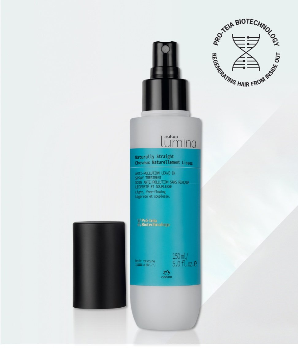 Natura Lumina Straight Hair Anti-Pollution Leave In Spray_mobile