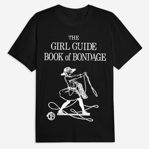 Girl Guide Bondage Tee - Black