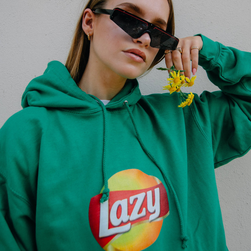 Lazy Hoodie - Green / Blue / Yellow