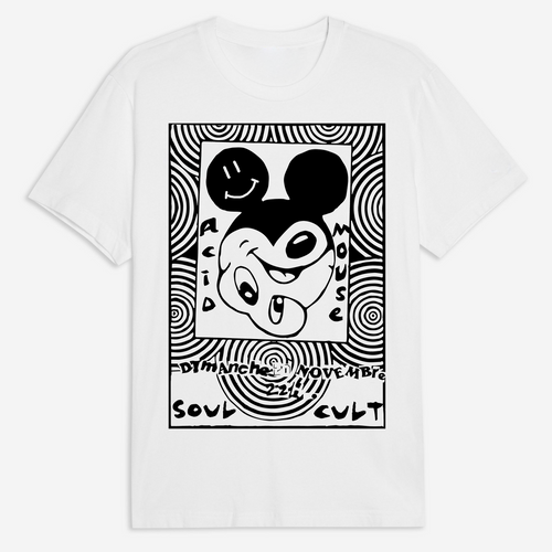 Acid Mouse T-Shirt - White