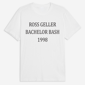 Bachelor Bash Tee - White