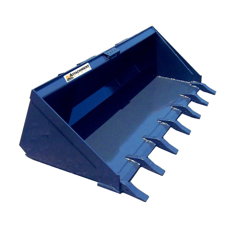 Long Bottom Bucket with Teeth - Attachment Deals
