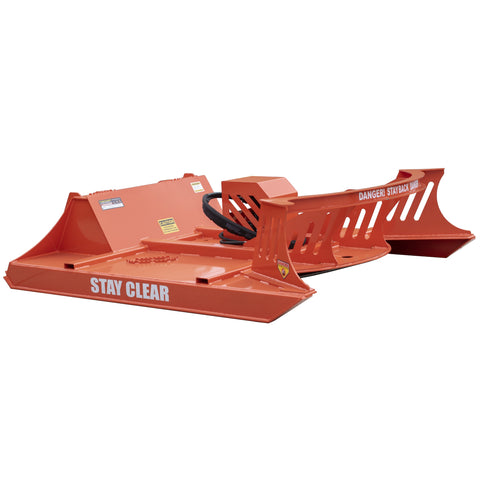 Brush Cutter Orange Powder Coat