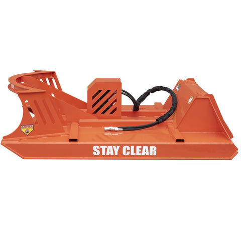 Orange Brush Cutter Side