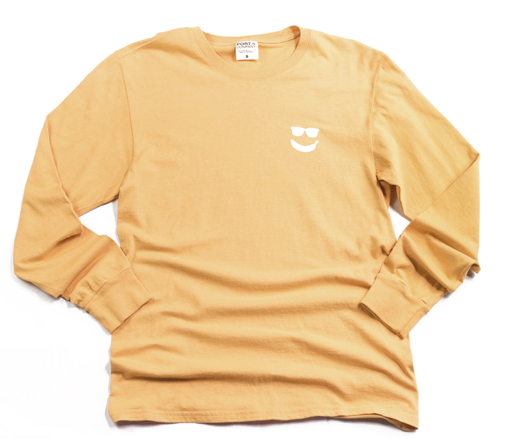 25c Bananas Garment Washed Long Sleeve