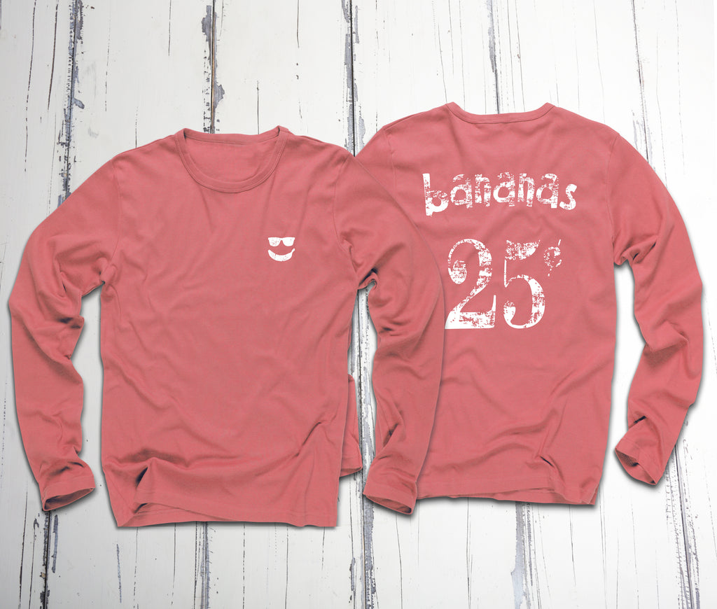 25c Bananas Beach Wash Long Sleeve