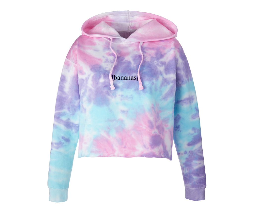 Cotton Candy Cropped Hoodie