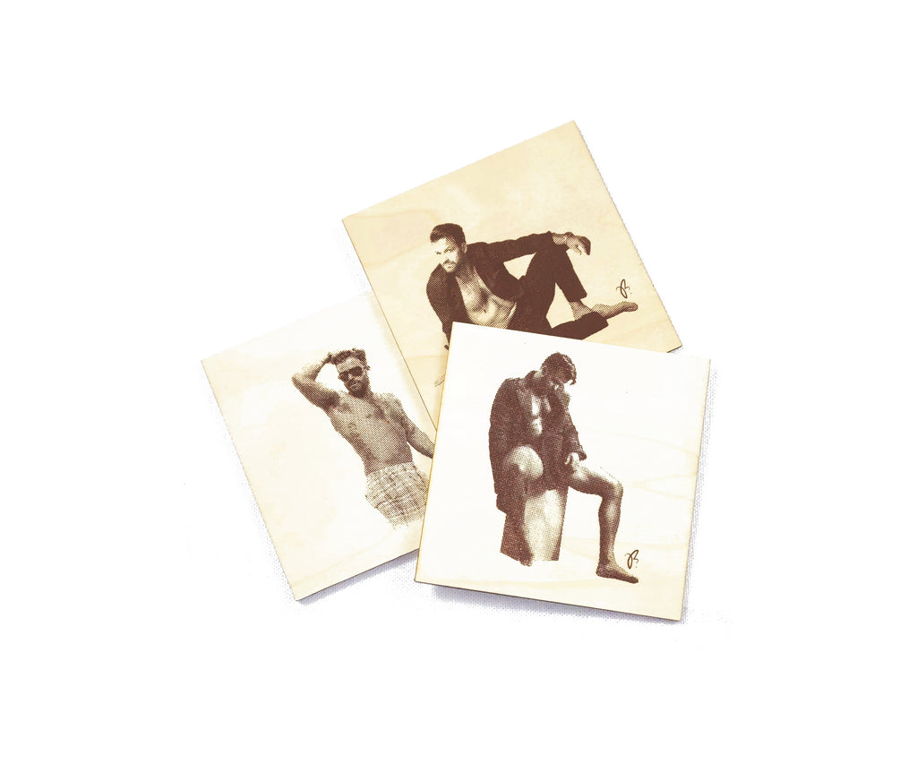 Sultry JB Coasters - Set of 3