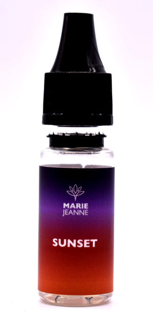 E liquide Marie Jeanne Sunset Disponible en 100 MG et 300 MG - cbd queen nice