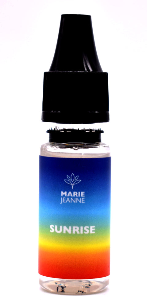 E-Liquide Marie Jeanne Sunrise Disponible en 100 MG et 300 MG - cbd queen nice