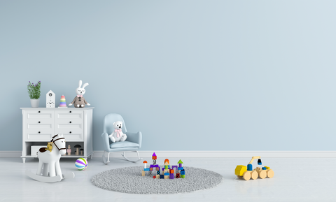 Baby Toys in Baby Nursery