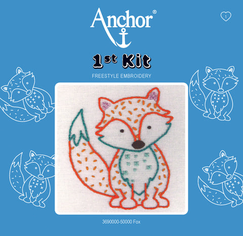 Anchor 1st Kit Freestyle embroidery: Fox
