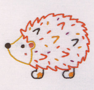 1st Kit: Hedgehog Freestyle Embroidery Kit