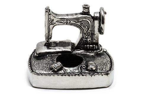 Pewter Sewing Station Pin Cushion