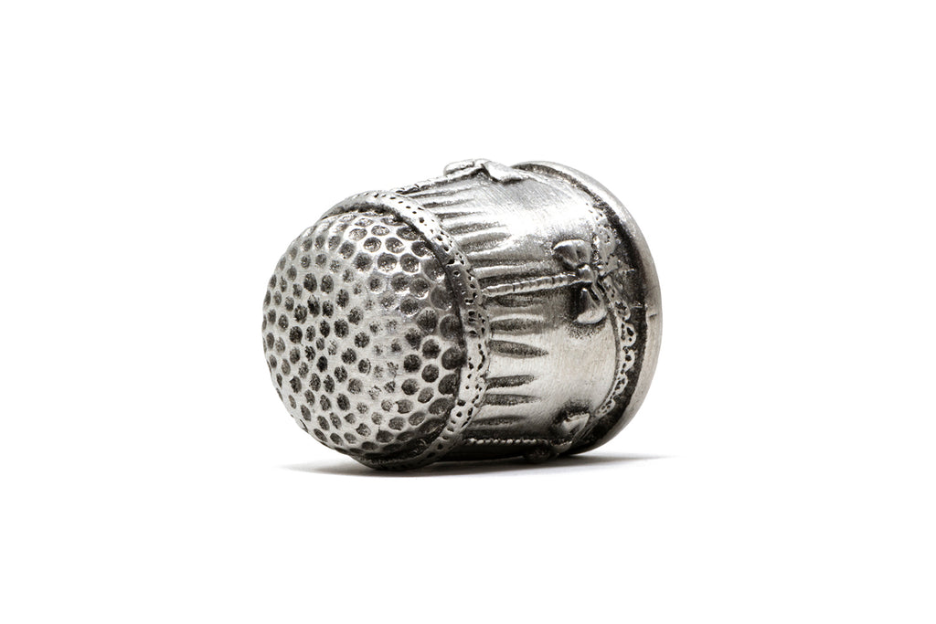Intricately Patterned Vintage Style Thimble