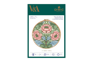 DMC J.H. Dearle Myrtle Cross Stitch Kit Packaging