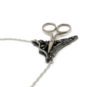 Pewter Chatelaine Scissors