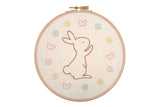 Anchor Bunny Embroidery Hoop Kit
