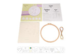 Anchor Bunny Embroidery Hoop Kit Contents