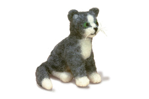 Dimensions Cat Needle Felting Finished Model