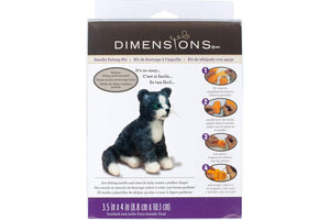 Dimensions Cat Needle Felting Kit Packaging