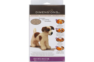 Needle Felting Kit: Dog