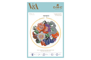 DMC Floral Decoration Cross Stitch Kit Packaging