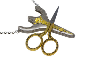 Pearl of the Orient Chatelaine Scissors