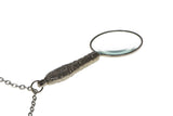 Victorian Style Magnifying Glass with Chain