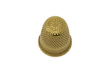 gold plated thimble