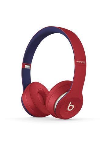 Beats Solo3 Wireless On-Ear Headphones - Beats Club Collection - Club Red - Soul Rich Village