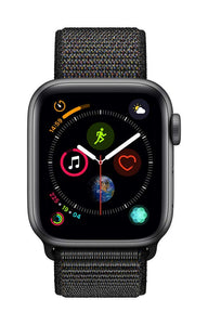 Apple Watch Series 4 (GPS, 40mm) - Space Gray Aluminium Case with Black Sport Loop - Soul Rich Village