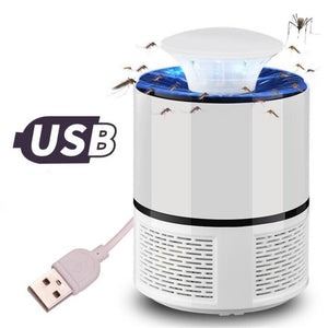 Anti mosquito led USB electric mosquito killer lamp UV night light anti fly mosquito zapper muggen killer insect trap for Living - Soul Rich Village