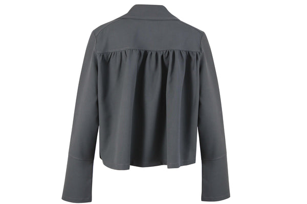 JACKET WITH BACK GATHERINGS