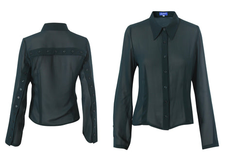 BACK BUTTON SHIRT