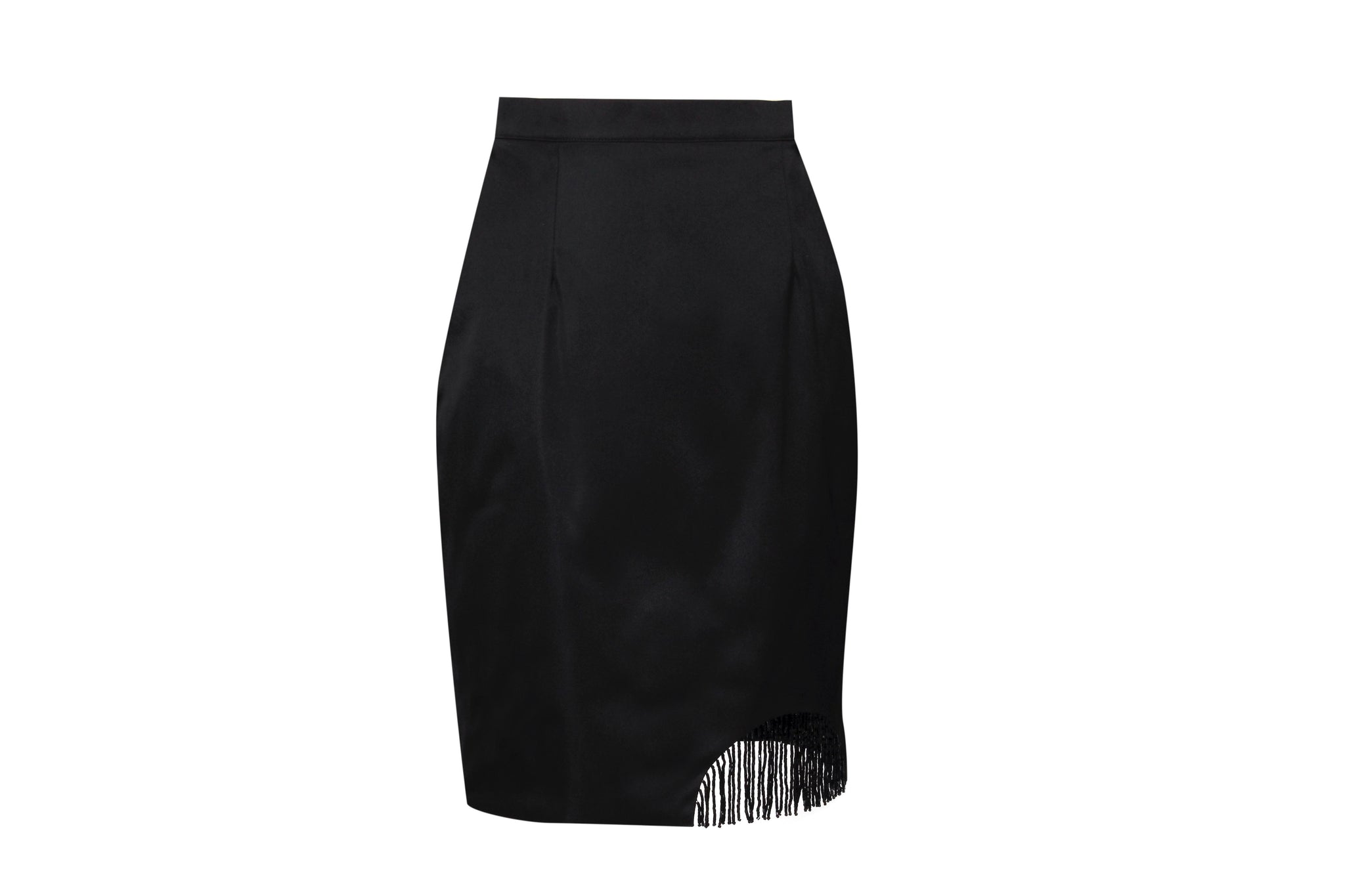 CURVE-CUT SKIRT