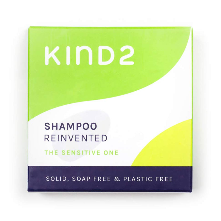 KIND2 The Sensitive One - solid shampoo bar packaging