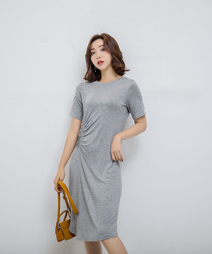 DR20122 Short Sleeve T-Shirt Dress