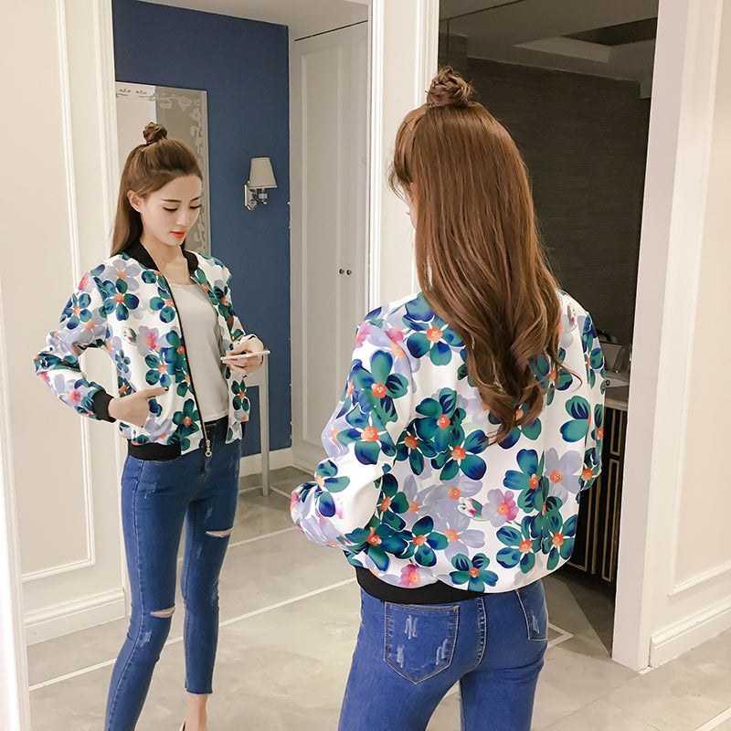 OT20097 Long Sleeve Flora Jacket