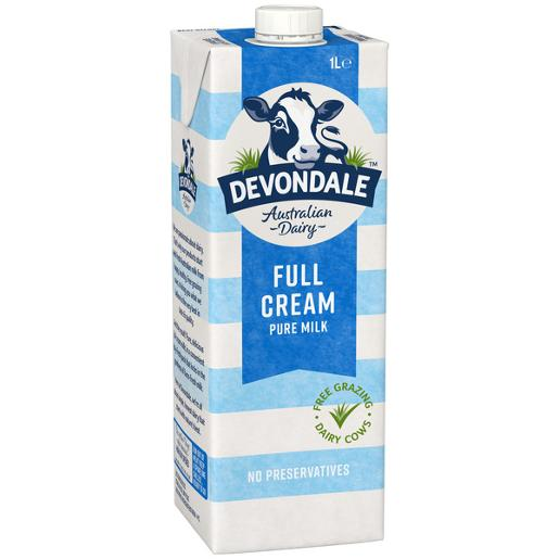 DEVONDALE MILK LONGLIFE FULL CREAM 1L