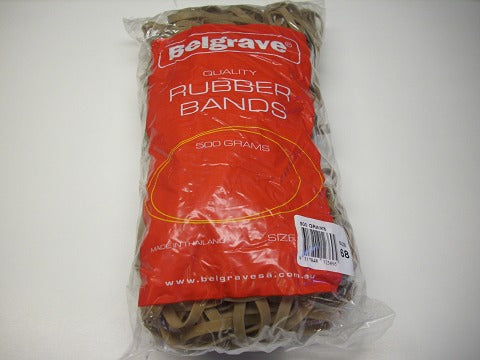 Rubber Bands Belgrave 500 Gram No 68