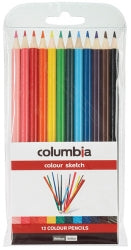Pencil Coloured Columbia Coloursketch Wlt12